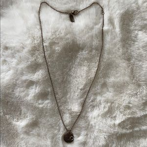 Coach sterling silver necklace